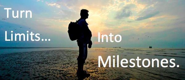 Turn limits into milestones