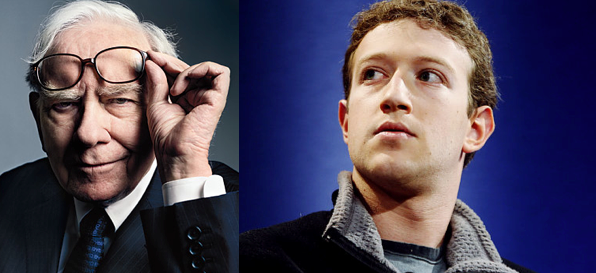Warren Buffett and Mark Zuckerberg process over outcome