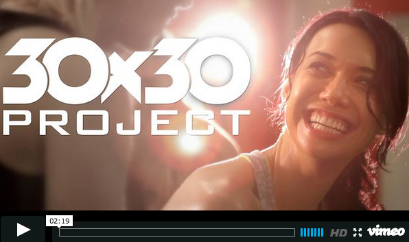 Amy Clover 30 30 project