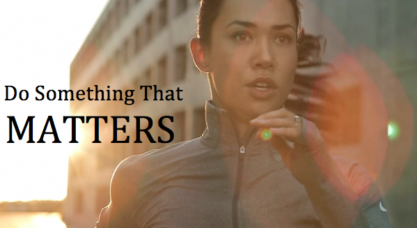 Do Something that Matters Amy Clover