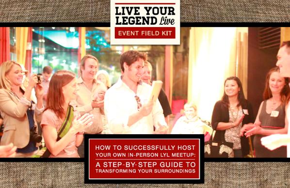 Live Your Legend Live Event Field Kit banner