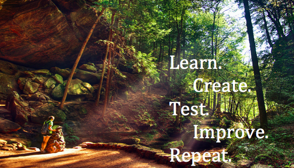 Learn Create Test Improve Repeat