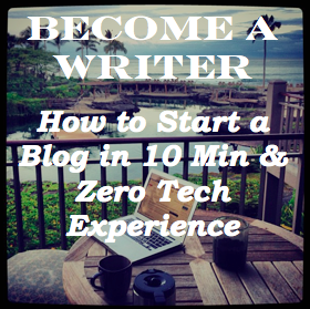 how to start a blog in under 10 minutues
