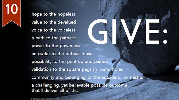 Give your revolutino a manifesto