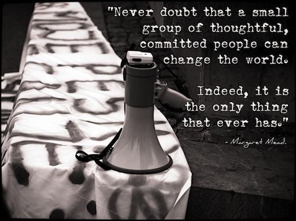margaret mead revolution quote