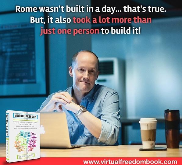 Chris Ducker Virtual Freedom