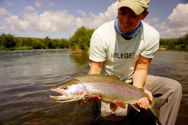 Kamchatka Rainbow catch & release