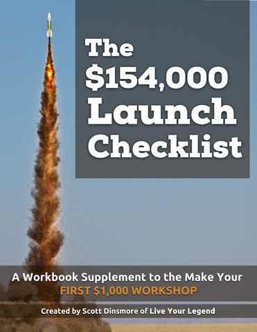 The LYL Proprietary 154k Launch Checklist Cover