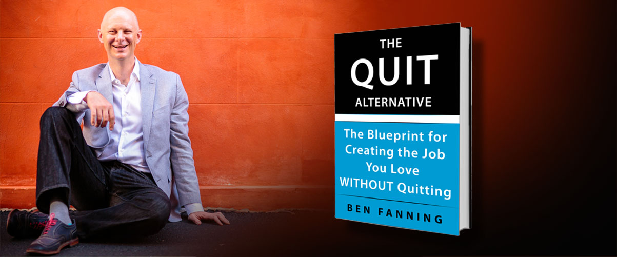 ben fanning the quit alternative book