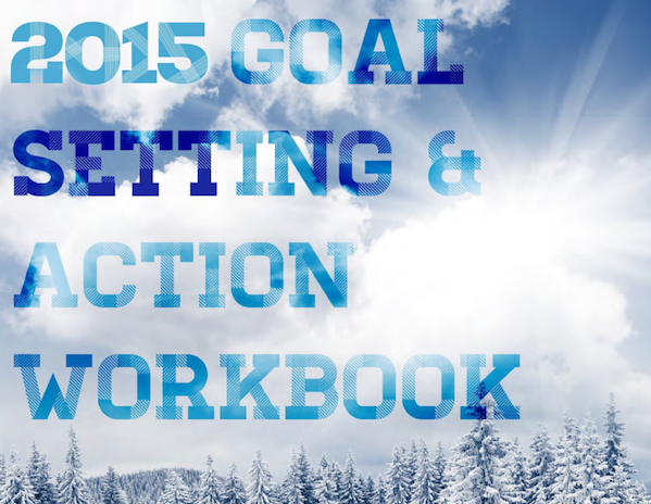 2015 Goal Setting Action Workbook cover