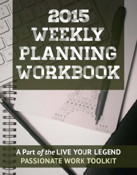 2015 Weekly Planning Workbook download