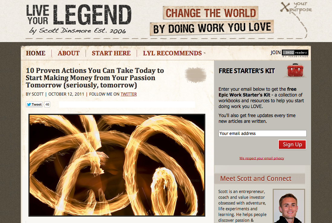 The Launch of Live Your Legend