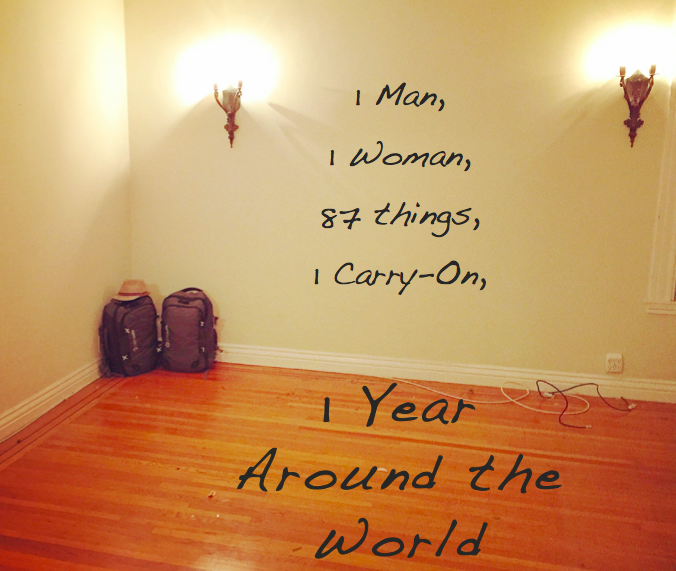 1 man 1 woman 87 things 1 year around the world