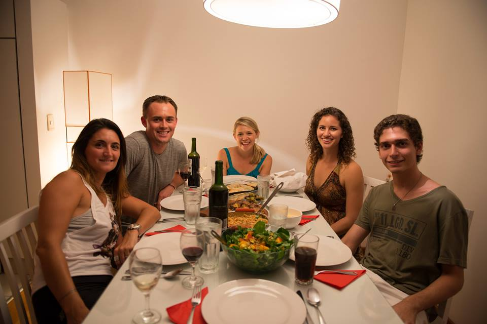 world tour dinner party buenos aires