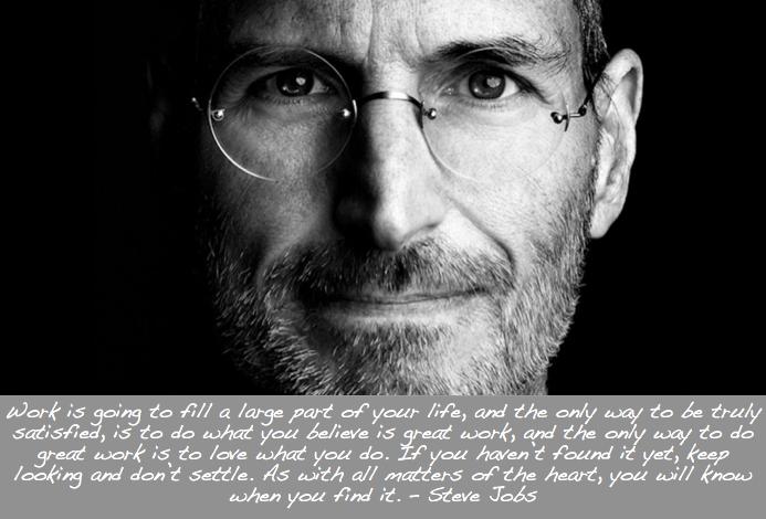 Steve Jobs Dont Settle