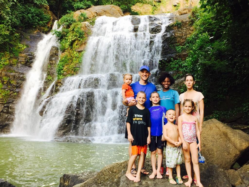 Denning-family-Nauyaca-Waterfall-Costa-Rica