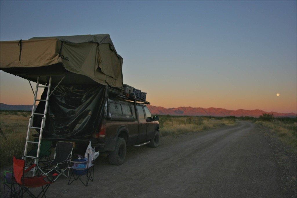 Camping in Northern Mexico