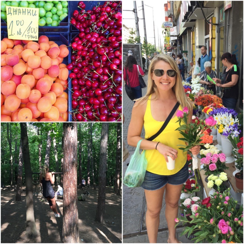 Fruit, Flowers and the Forest in Sofia