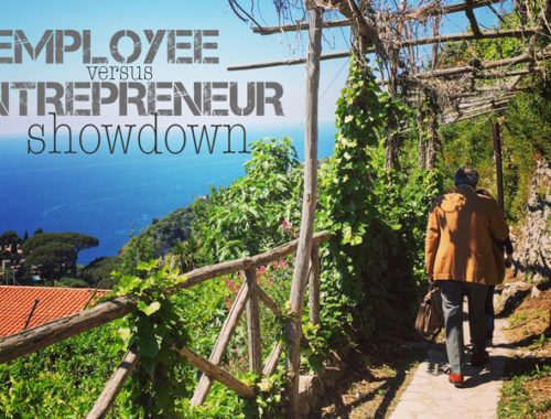 The employee vs entrepreneur showdown