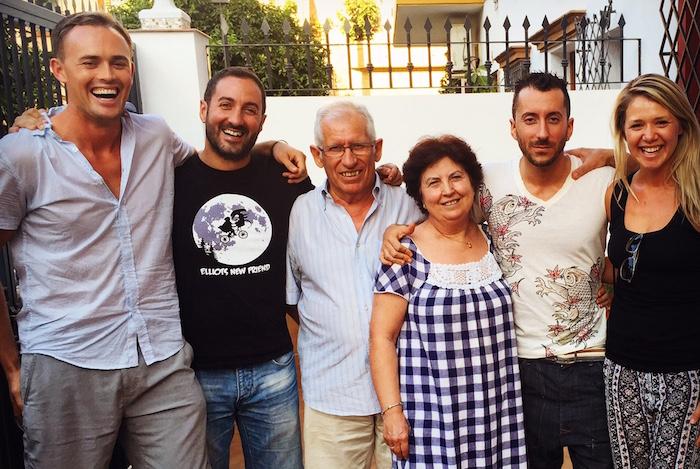 mi familia espanola