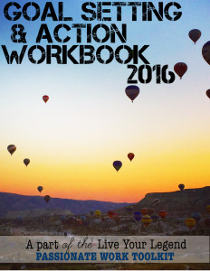 2016 Goal Setting and ActionWorkbook: Live Your Legend