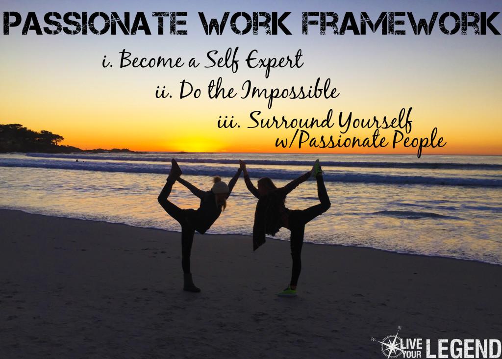 Live Your Legend: Passionate Work Framework