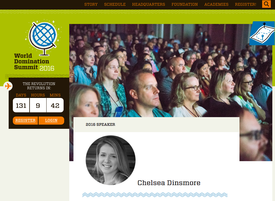 Live Your Legend: Chelsea Dinsmore - WDS Speaker