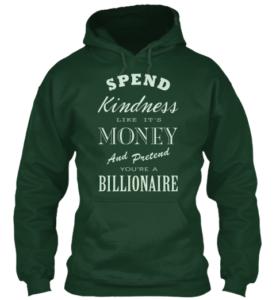 kindness hoodie